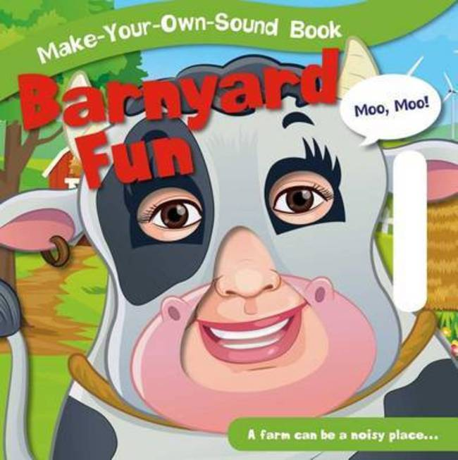 barnyard fun make your own sound books board book
