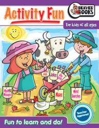 Activity Fun Book: Farm by Beaver Books product image