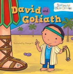 David and Goliath (5 Minute Bible Stories) (Board book) product image