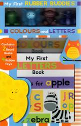 My First Rubber Buddies, Colours & Letters Box Set product image