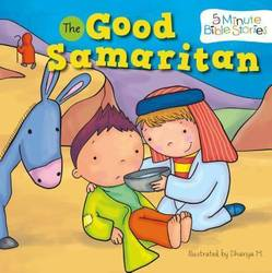 The Good Samaritan 5 Minute Bible Stories (Board book) product image
