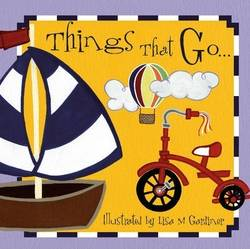 Things That Go (Board book) product image