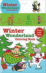 Winter Wonderland Coloring Book (with 6 colouring pencils) product image