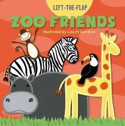 Zoo Friends (Lift-The-Flap) (Board book) product image