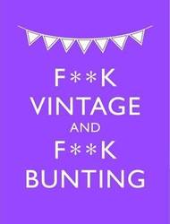 F**K Vintage & F**K Bunting product image
