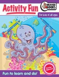 Activity Fun Book Octopuss product image