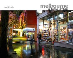 Melbourne A Love Affair Slip case product image