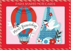 Paris Shaped Notecards product image