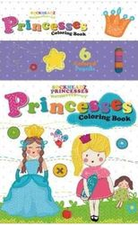 Sockheadz Princess Colouring Book with 6 full Size Pencils product image