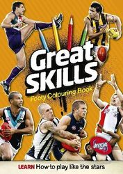 Great Skills Footy Colouring product image