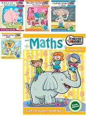Educational Workbook Pack with Spinner product image