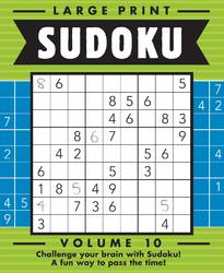Large Print Sudoku Vol 10 by Beaver Books product image