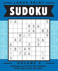 Large Print Sudoku Vol 9 By Beaver Books product image