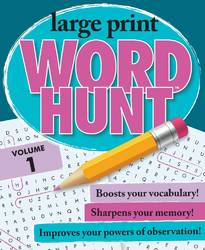 Large Print Word Hunt Vol 1 By Beaver Books product image