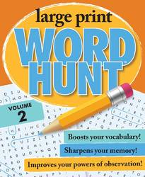 Large Print Word Hunt Vol 2 By Beaver Books product image