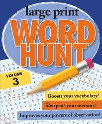 Large Print Word Hunt Vol 3 By Beaver Books product image