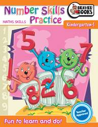 Number Skills Practice K to Grade1 product image