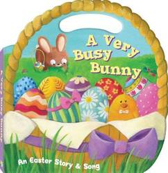 A Very Busy Bunny An Easter Story & Song product image