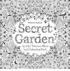 Secret Garden An Inky Treasure Hunt and Colouring Book product image