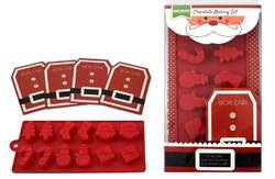 Santa Chocolate Making Kit product image