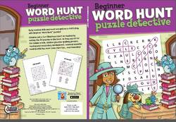 Beginner Word Hunt Puzzle Detective product image
