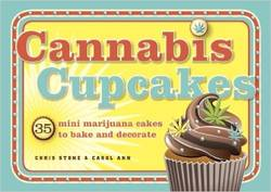 Cannabis Cupcakes : 35 Mini Marijuana Cakes to Bake and Decorate product image